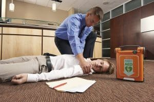 can a taser be used as a defibrillator