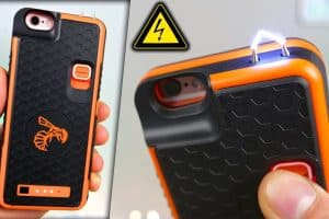 how to make stun gun from mobile phone