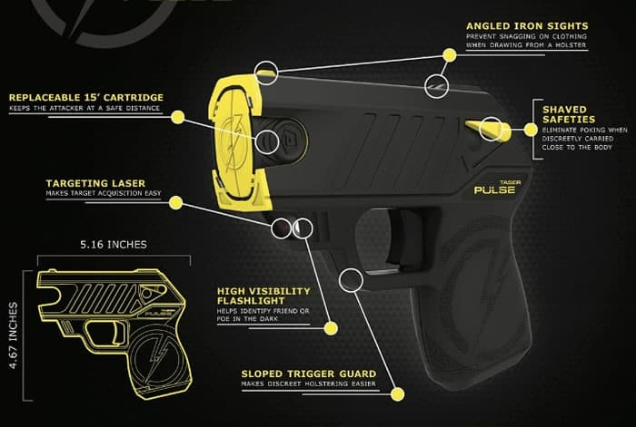 what does a taser look like